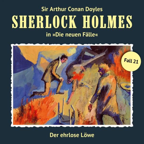 Sherlock Holmes-Neue Fälle CD 21: Der ehrlose Löwe
