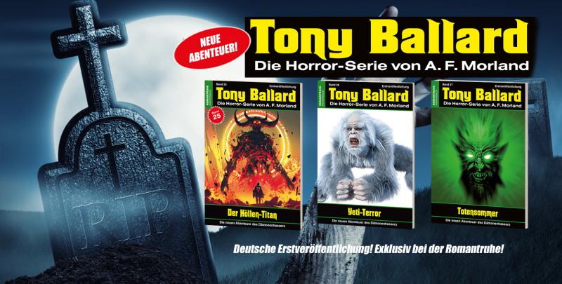 Tony Ballard Neue Abenteuer