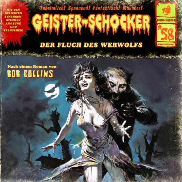 MP3-DOWNLOAD Geister-Schocker 58: Der Fluch des Werwolfs