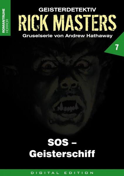 E-Book Rick Masters 07: S.O.S. - Geisterschiff