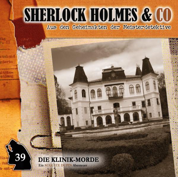 Sherlock Holmes und Co. CD 39: Die Klinik-Morde