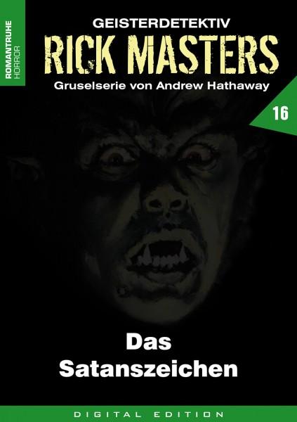E-Book Rick Masters 16: Das Satanszeichen