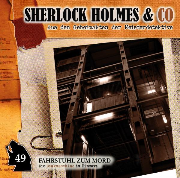 Sherlock Holmes und Co. CD 49: Fahrstuhl zum Mord