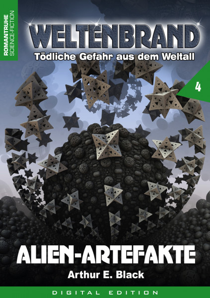 E-Book Weltenbrand 4: Alien-Artefakte