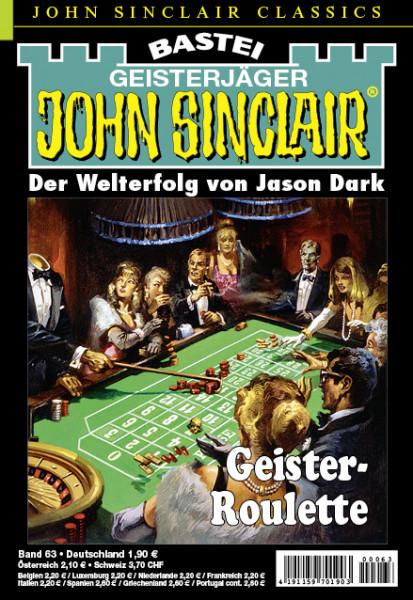 John Sinclair Classics 63: Geister-Roulette