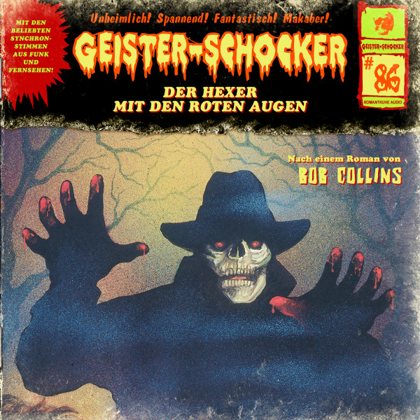 Geister-Schocker CD 86: Der Hexer mit den roten Augen