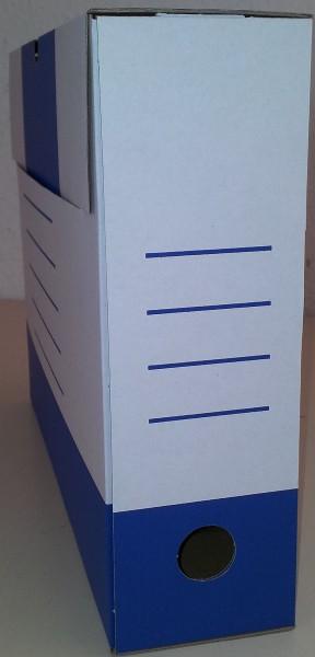 Sammelboxen-Klassik blau 8cm