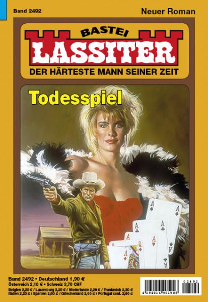 Lassiter 1. Auflage 2492: Todesspiel