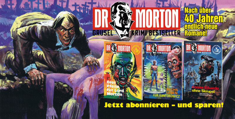Dr. Morton neue Romane