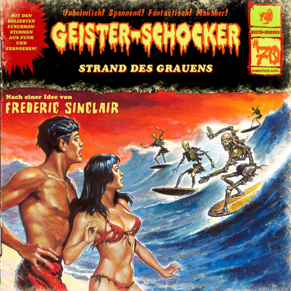 MP3-DOWNLOAD Geister-Schocker 70: Strand des Grauens