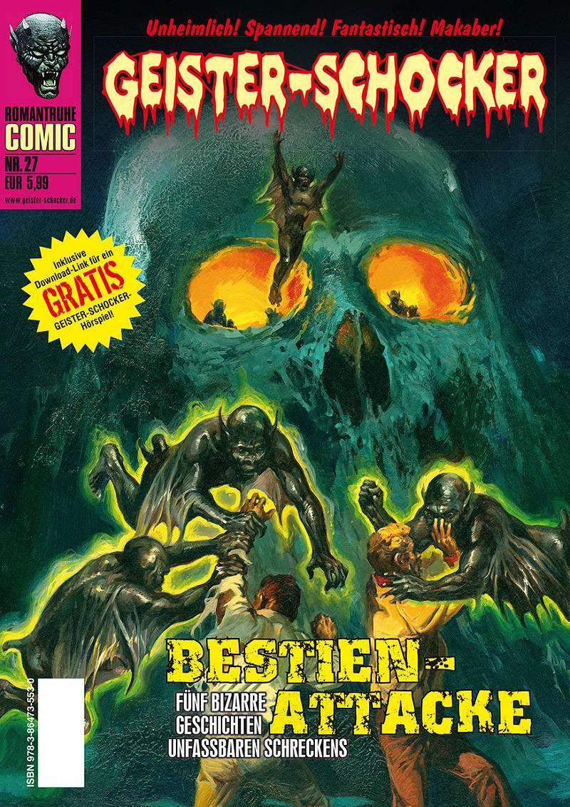Geister-Schocker-Comic 27: Bestien-Attacke