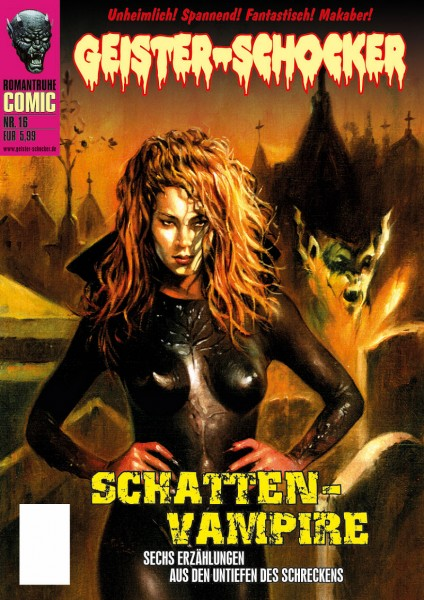 Geister-Schocker-Comic 16: Schatten-Vampire
