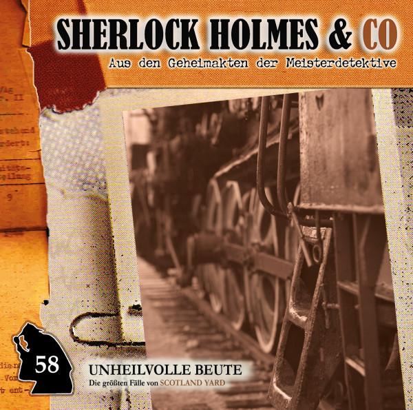 Sherlock Holmes und Co. CD 58: Unheilvolle Beute