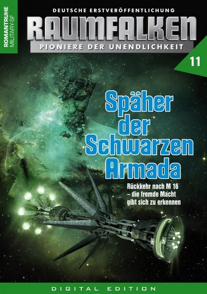 E-Book Raumfalken 11: Späher der Schwarzen Armada