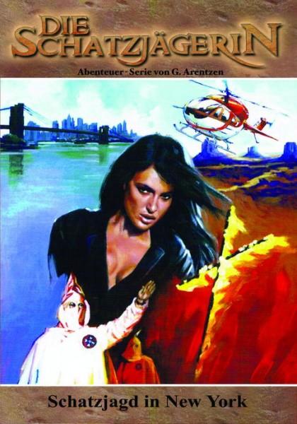 E-Book Die Schatzjägerin 16: Schatzjagd in New York
