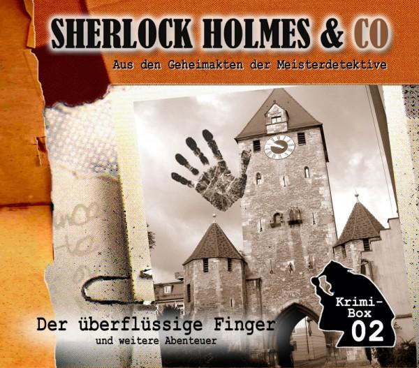 Sherlock Holmes und Co. Box 2: mit den Folgen 4-6