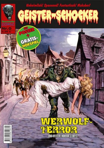Geister-Schocker-Comic 00: Werwolf-Terror