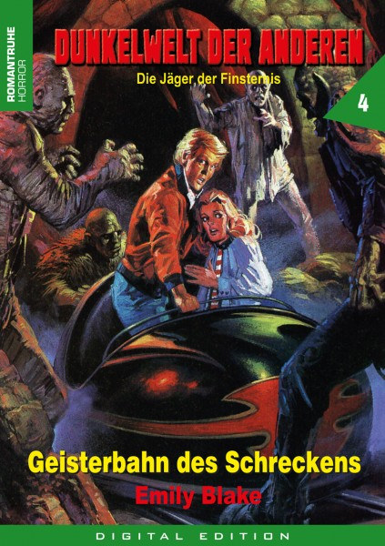 E-Book Dunkelwelt der Anderen 4: Geisterbahn des Schreckens