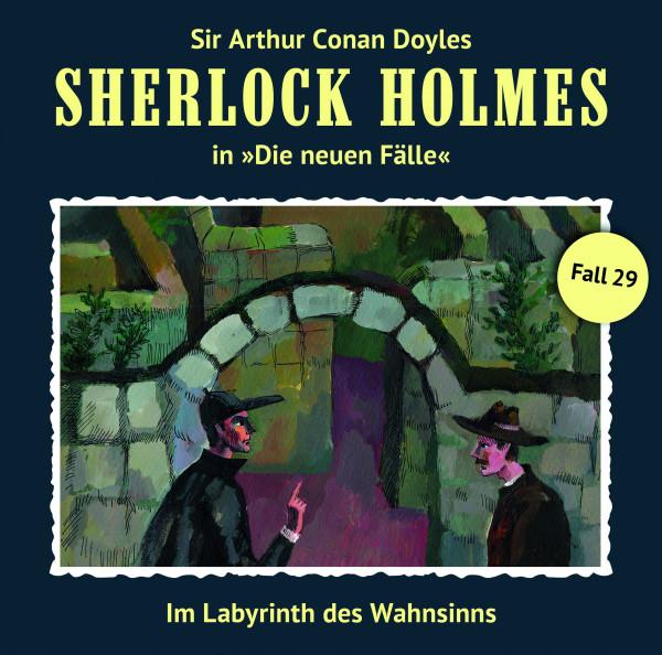 Sherlock Holmes-Neue Fälle LP: Im Labyrinth des Wahnsinns