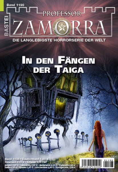 Professor Zamorra 1198: In den Fängen der Taiga