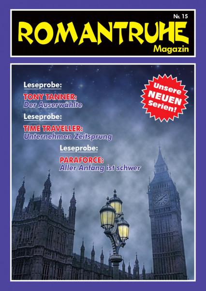 Romantruhe-Magazin Nr. 15 Romantruhe Abenteuer (Neue Science-Fiction Geschichten)