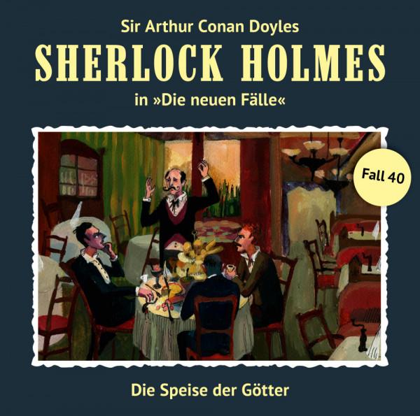 MP3-DOWNLOAD Sherlock Holmes-Neue Fälle 40: Die Speise der Götter