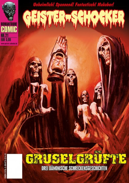Geister-Schocker-Comic 21: Grusel-Grüfte