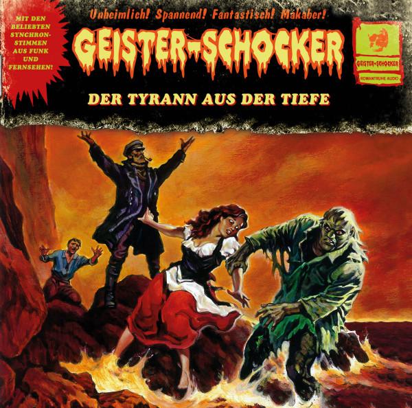 Geister-Schocker LP Paket: 4 verschiedene Geister-Schocker-LPs