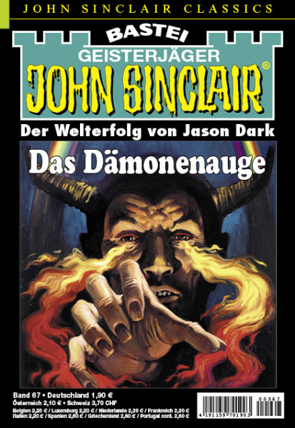 John Sinclair Classics 67: Das Dämonenauge (2. Teil)