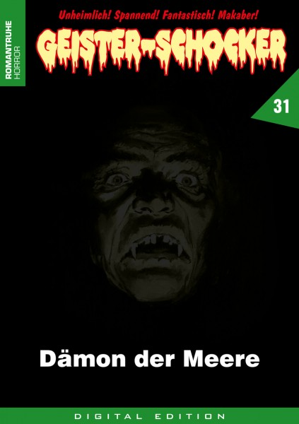 E-Book Geister-Schocker 31: Dämon der Meere