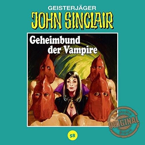 John Sinclair Tonstudio-Braun CD 58: Geheimbund der Vampire