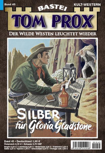Tom Prox 45: Silber für Gloria Gladstone