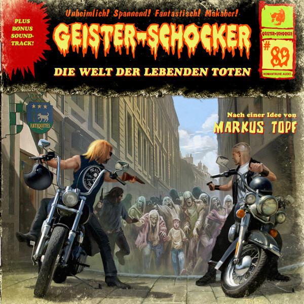 Geister-Schocker CD 89: Die Welt der lebenden Toten