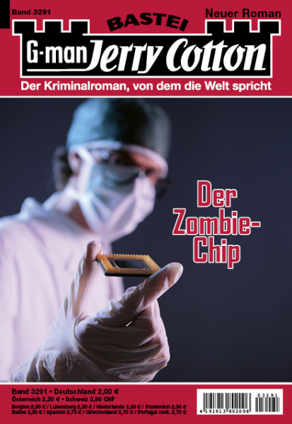 Jerry Cotton 1. Aufl. 3291: Der Zombie-Chip