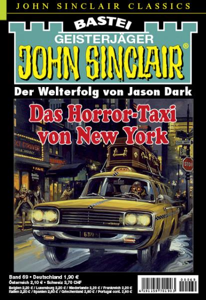 John Sinclair Classics 69: Das Horror-Taxi von New York