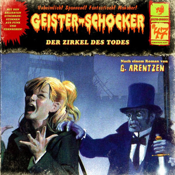 MP3-DOWNLOAD Geister-Schocker 47: Der Zirkel des Todes