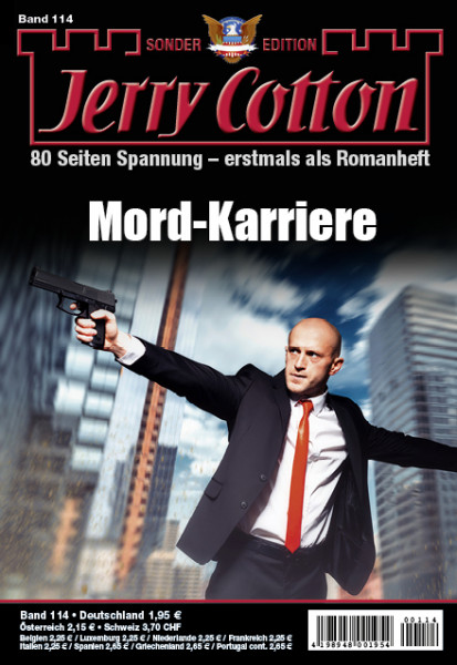 Jerry Cotton Sonderedition 114: Mord-Karriere