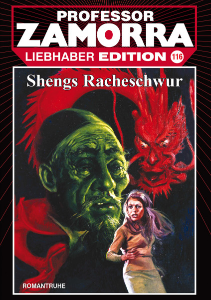 Zamorra Liebhaberedition 116: Shengs Racheschwur