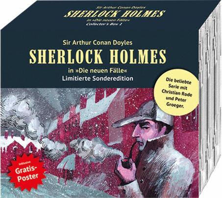 Sherlock Holmes-Neue Fälle Sammlerbox: 3 Hörspiele nach Wahl