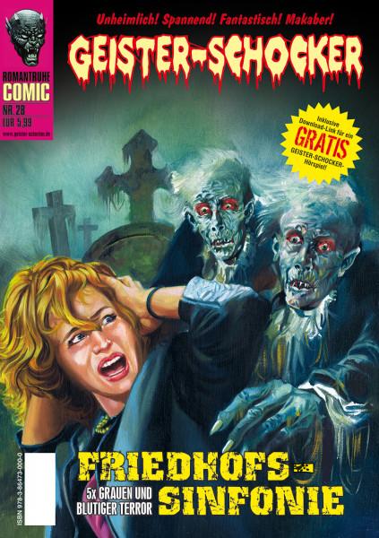 Geister-Schocker-Comic 28: Friedhofs-Sinfonie