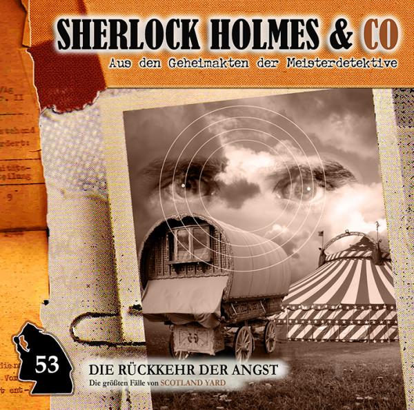 Sherlock Holmes und Co. CD 53: Die Rückkehr der Angst