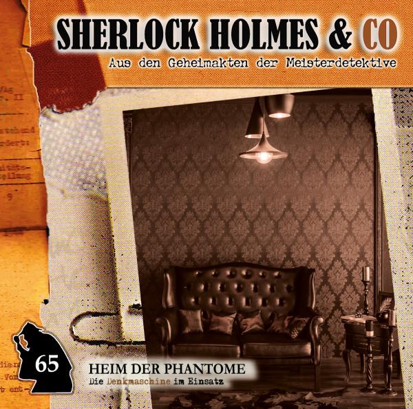 Sherlock Holmes und Co. CD 65: Heim der Phantome