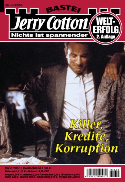 Jerry Cotton 2. Aufl. 2855: Killer, Kredite, Korruption