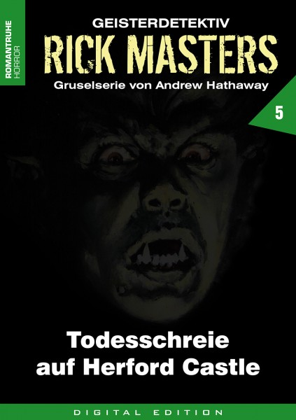 E-Book Rick Masters 05: Todesschreie auf Herford Castle