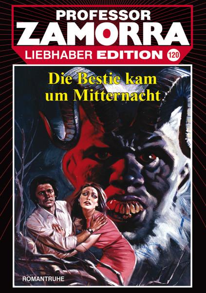 Zamorra Liebhaberedition 120: die Bestie kam um Mitternacht
