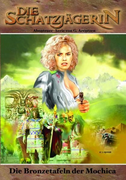 E-Book Die Schatzjägerin 10: Die Bronzetafeln der Mochica