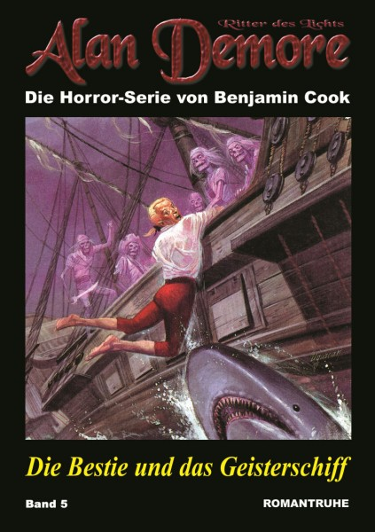 E-Book Alan Demore 05: Die Bestie und das Geisterschiff