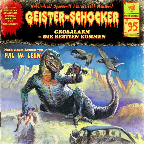 Geister-Schocker CD 95: Großalarm - die Bestien kommen