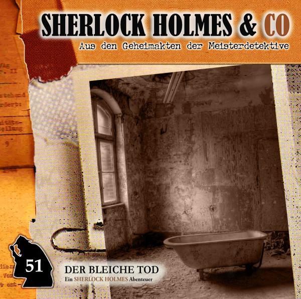 Sherlock Holmes und Co. CD 51: Der bleiche Tod