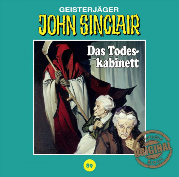 John Sinclair Tonstudio-Braun CD 89: Das Todeskabinett